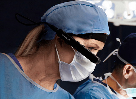benefits of smart glasses in health sector