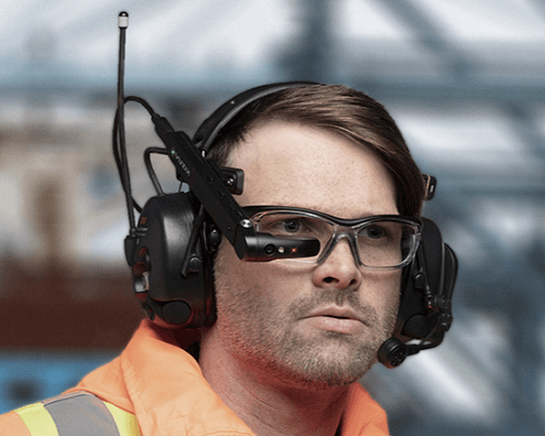 smart glasses for industrial use