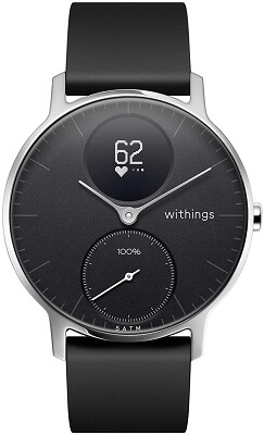 Hybrid smartwatch with heart rate monitor