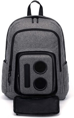 Bluetooth speaker backpack with subwoofer