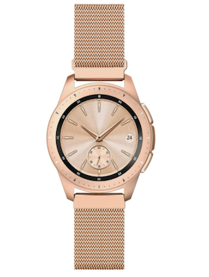 QusFy Rose Gold band for Samsung Galaxy Watch 42mm