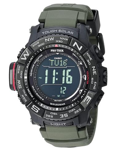 watch like g-shock Casio PRO TREK