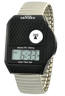 Atomic top Button English Talking Watch