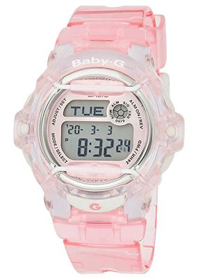 Casio Women's BG169-4 Baby-G Pink Whale Digital Sport Watch