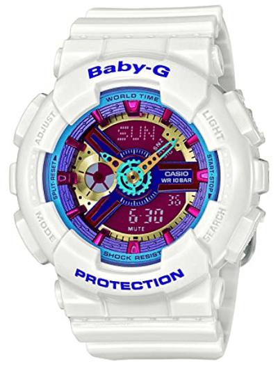 Casio Women's Baby G Quartz 100M WR Shock Resistant