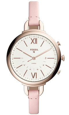 Fossil Hybrid Smartwatch - Annette Pink Leather