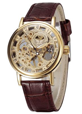 Affordable skeleton watch