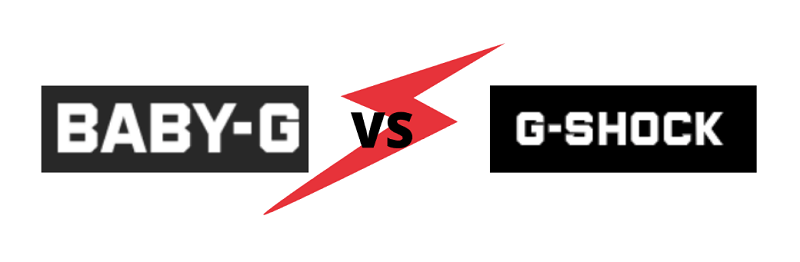 Baby G vs G Shock
