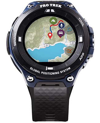 GPS watch with Map display