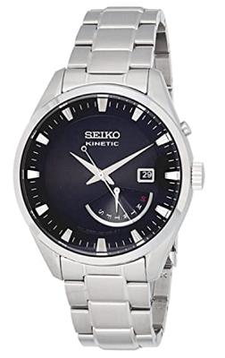 Seiko men analog stainless steel