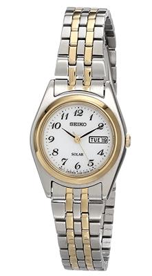 Seiko watch dual tone