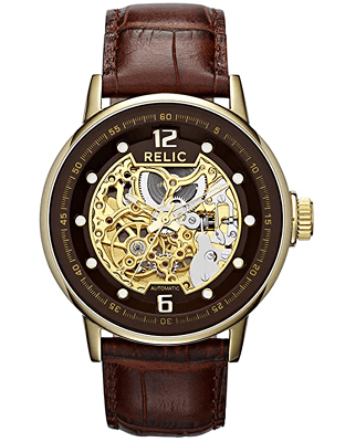 Skeleton watch from Fossil
