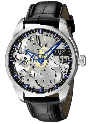Tissot skeleton watch