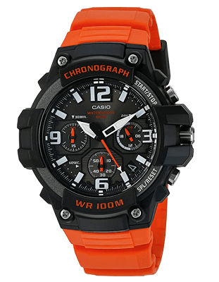 Affordable chronograph watch