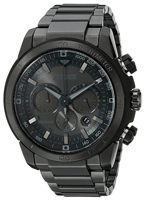 Citizen Men's Eco- Drive Chronograph Stainless Steel Watch