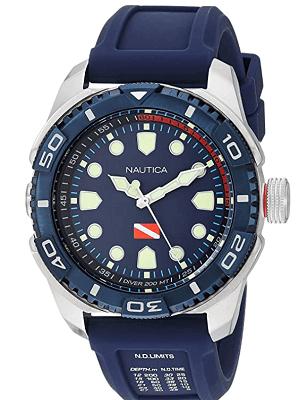 Diving nautica watch