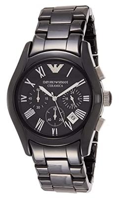 Emporio Armani luxury ceramic watch