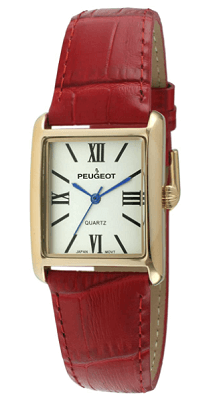 Peugeot women's rectangular watch