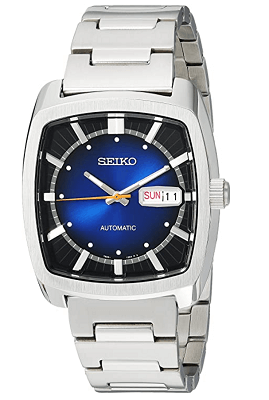 Seiko Recraft best square dial automatic watch