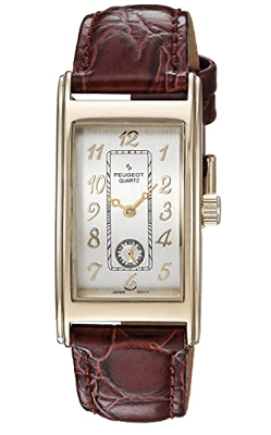 Vintage rectangular watch from peugeot