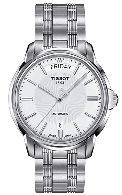 automatic watch with day and date