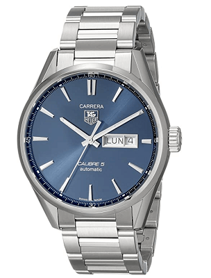 luxury day and date watch