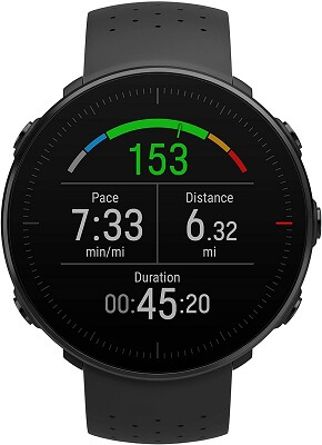 Smartwatch with badminton mode from Polar