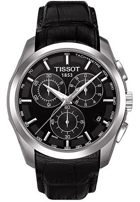 Tissot watch with tachymeter