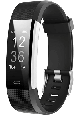 fitness band with vibrating alarm