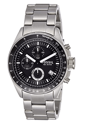 fossil affordable tachymeter watch