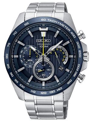 seiko tachymeter watch