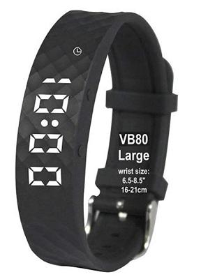 slim vibrate alarm watch