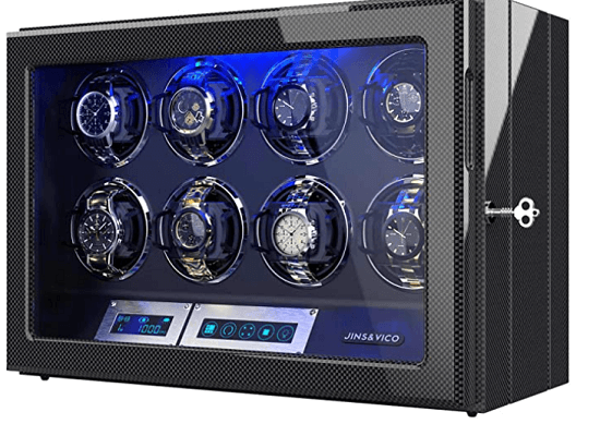 8 automatic watch winder safe