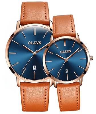 Best couples watches with leather strap