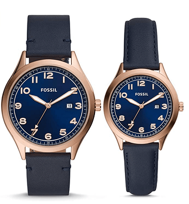 Best his and her Fossil watches