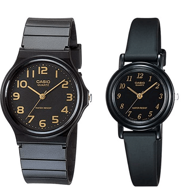 Casio men and women couple watches