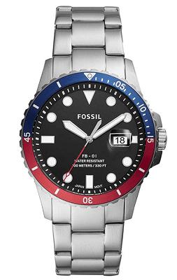 Fossil FB-01 luminous watch dial