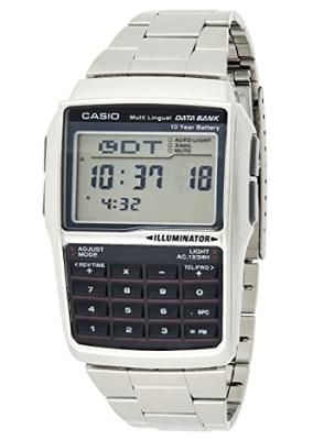 data bank calculator watch