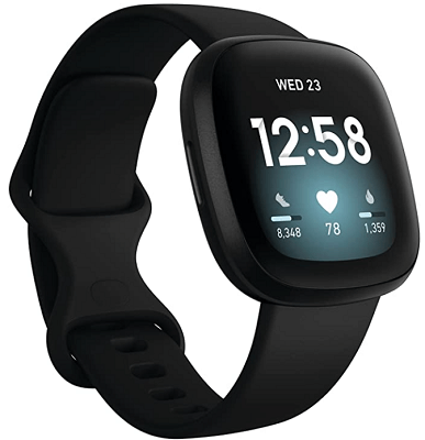 smartwatch with amoled display with gps