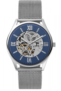 Skagen Men's Holst Automatic Stainless Steel Skeleton Watch