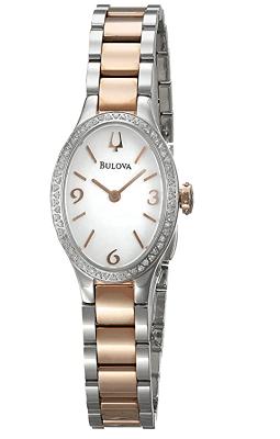 bulova ladies oval watch