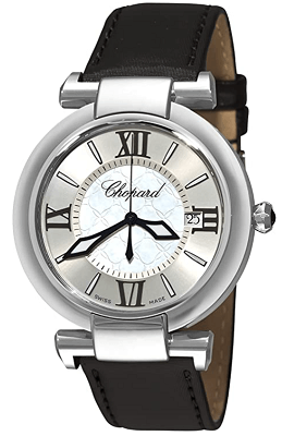 chopard ladies mother of pearl watch