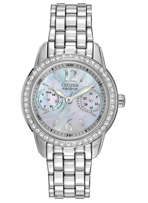 mother of pearl citizen watch