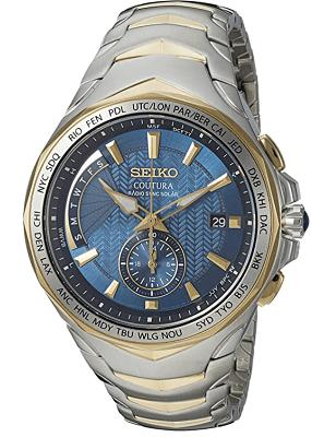 radio solar bulky watch