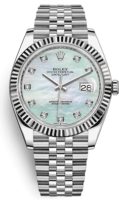 rolex mother of pearl for men