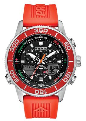 Citizen dual display solar watch