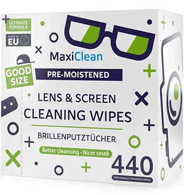 Cleaning wipes for watch