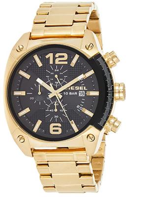 Diesel gold watch