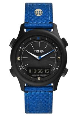 Fossil ana digi eco-friendly watch