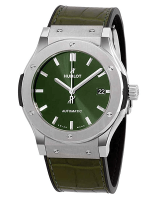 Hublot Classic green 45mm